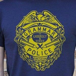 Other - Grammar Police tshirt